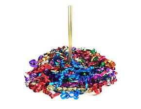 Metallic Streamers Confetti - mix of colors - 10 m 20 pcs
