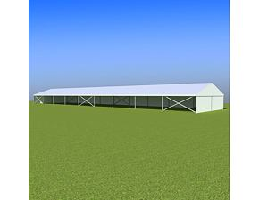 Party tent Eschenbach 10x45 m - 2,3 m