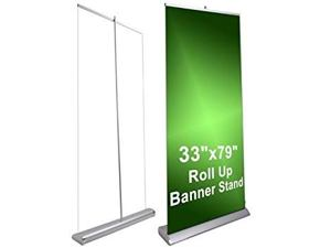 Roll up advertising - width 91 cm