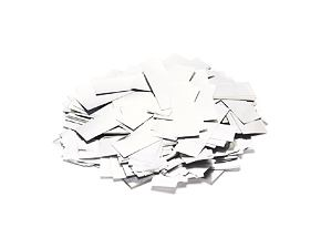 Metallic Confetti - white - 1 kg Pack