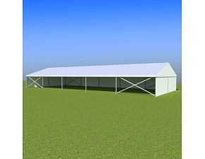 Party tent Eschenbach 10x25 m - 2,3 m