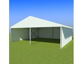 Party tent Eschenbach 10x10 m - 2.9 m