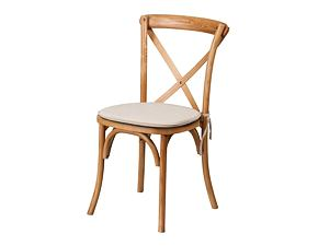 Wooden chair Crossback