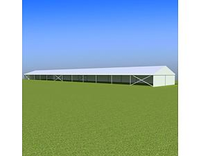 Party tent Eschenbach 10x60 m - 2,3 m