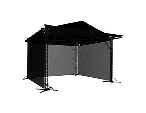 Roofing MILOS 10x10x7 m