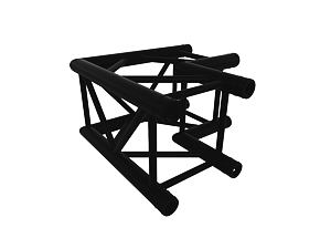 Black truss A290 No. 8286 - 500x500 mm - L-corner
