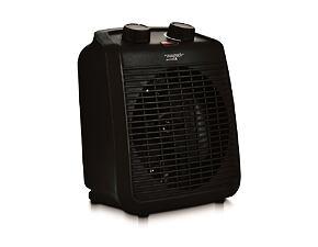 Electric heater 2000 W, black