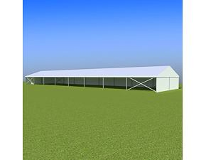 Party tent Eschenbach 10x40 m - 2,3 m
