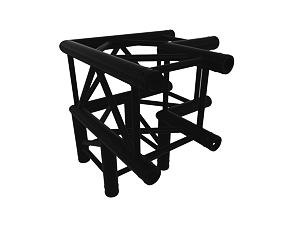 Black truss A290 no. 8287 - 500x500x500 mm - 3-way