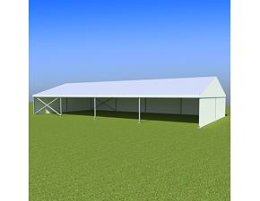 Party tent Eschenbach 10x20 m - 2,3 m