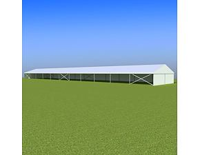 Party tent Eschenbach 10x55 m - 2,3 m