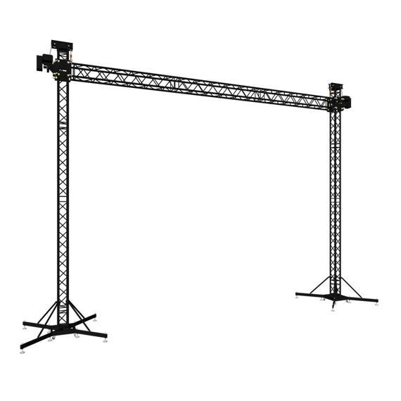 Ground Support - 2 feet - width 9 m
