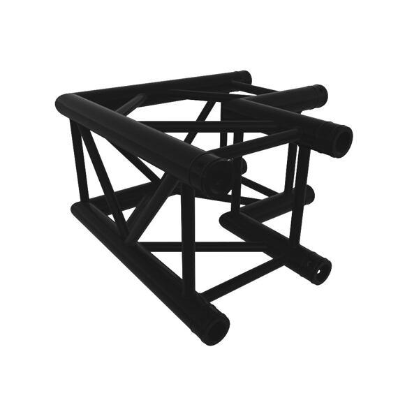 Black truss A290 8286 - 500x500 mm - L-corner