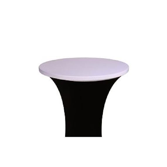 Cap bistro table - white, ⌀ 80 cm