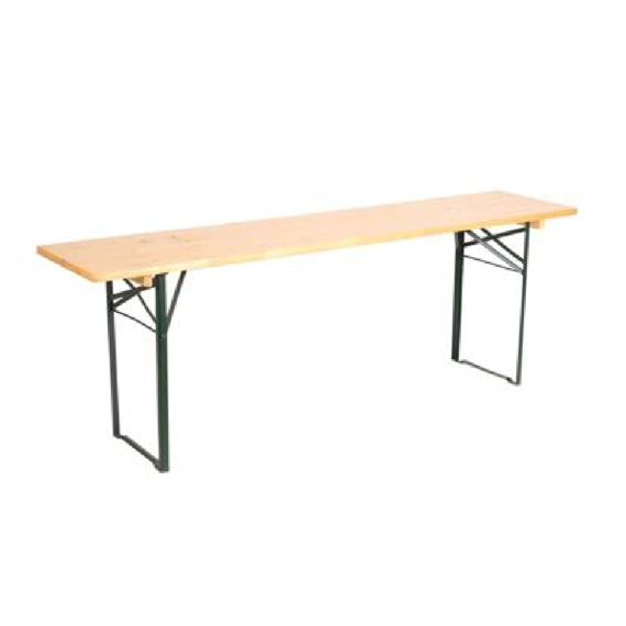 Beer set table - 220 cm