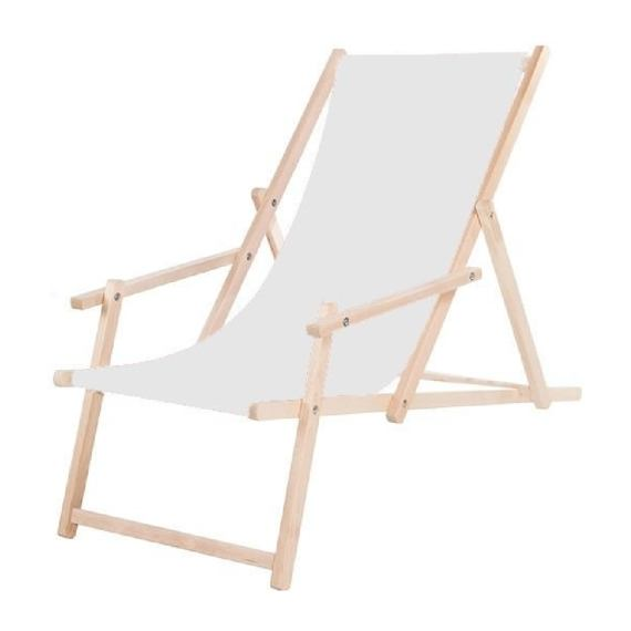 Wooden decking SPRINGOS FLORENCE with armrests