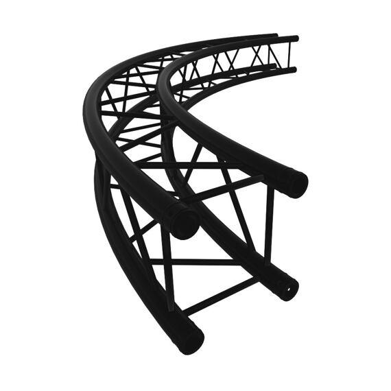 M390 QTL - radius of semicircle 12 m