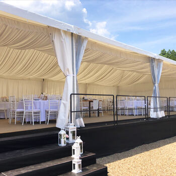 Party tents and floors - rental